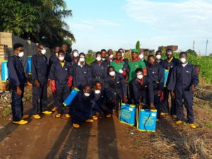 Benue Youths being Trained as Spray Service Providers